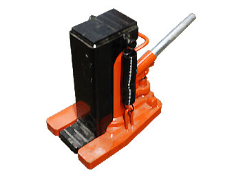 Hydraulic Toe Jack, 5 Ton Bottle
