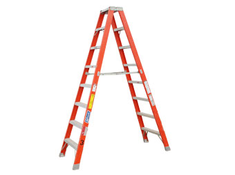 Step Ladder 14' Fiberglass