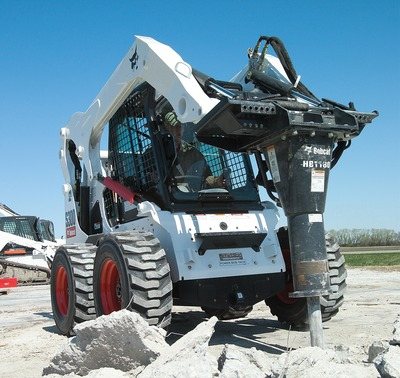Breaker Hammer Attachment Bobcat