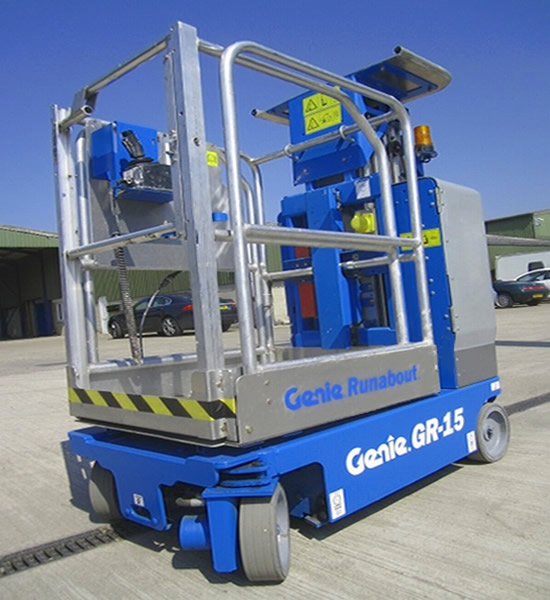 Scissor Lift 15' Electric