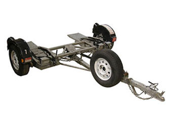 Tow Dolly For Automobiles