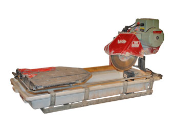 "Tile Saw, Ceramic 24"" Max Cut Wet"