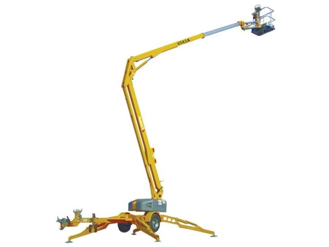 Towable Boom Lift 71' Articulated