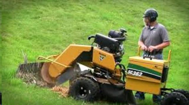 Stump Router, 35HP Autosweep