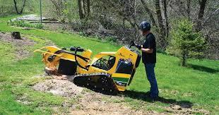 Stump Router, 25HP Track Autosweep