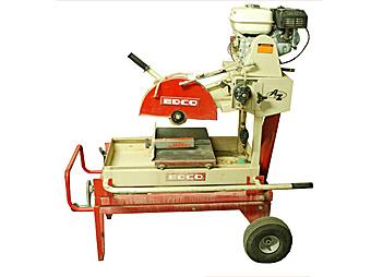 Brick & Block Saw, Gas Wet