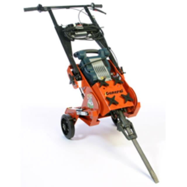 Hammer, 35lb with cart